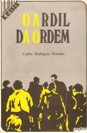 Capa de Livro: O ardil da ordem: caminhos e armadilhas da educação popular
