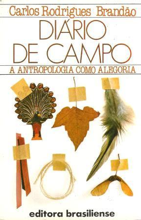 Capa de Livro: Diário de Campo – A Antropologia como alegoria