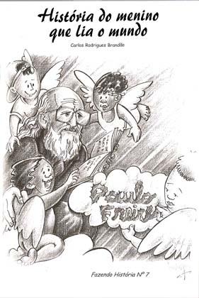Capa de Livro: História do menino que lia o mundo