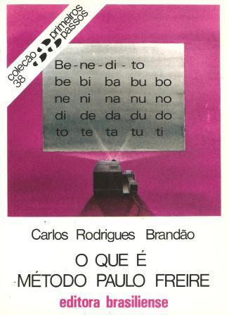 Capa de Livro: O que é Método Paulo Freire