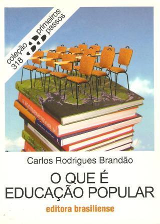 Capa de Livro: O que é Educação Popular