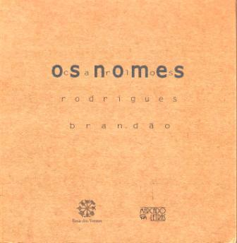 Capa de Livro: Os nomes