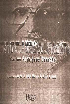 Capa de Livro: Paulo Freire, o menino que lia o mundo