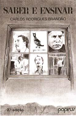 Capa de Livro: Saber e ensinar: três estudos de educação popular