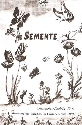 Capa de Livro: Semente