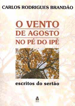 Capa de Livro: O vento de agosto no pé do ipê