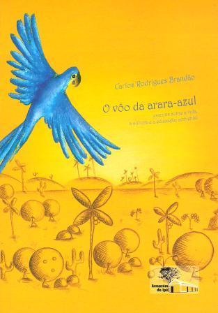 Capa de Livro: O vôo da arara-azul
