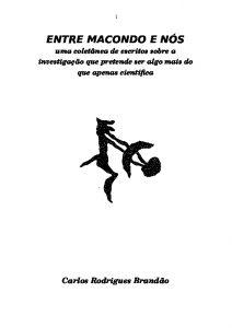 Capa de Livro: Entre Macondo e Nós