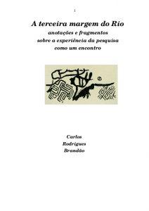 Capa de Livro: A Terceira Margem do Rio